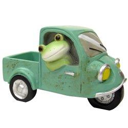 画像1: Copeau 三輪自動車に乗るカエル