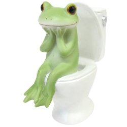 画像1: Copeau トイレとカエル