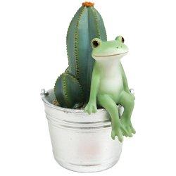 画像1: Copeau サボテンとお座りカエル