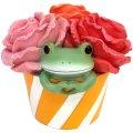 Copeau ミドル 花の中からカエル