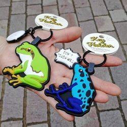 画像2: Frog ラバーキーホルダー