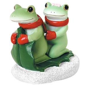 画像: Copeau ヒイラギの葉に乗るカップル