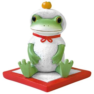 画像: Copeau 鏡餅姿のカエル