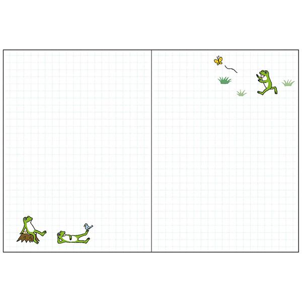 画像3: かえるの時間 スケジュール帳2020